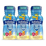 PediaSure Grow & Gain Kids' Ready-to-Drink Banana Nutritional Shake 6 pk