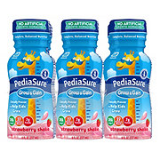 PediaSure Grow & Gain Ready-to-Drink Strawberry Nutrition Shake 6 pk