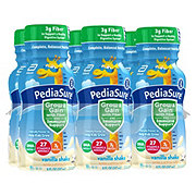 PediaSure Grow & Gain with Fiber Ready-to-Drink Vanilla Nutrition Shake 6 pk