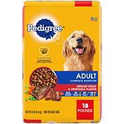 Pedigree Adult Complete Nutrition Grilled Steak & Vegetable Dry Dog Food
