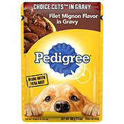 Pedigree Choice Cuts in Gravy Filet Mignon Wet Dog Food