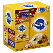 Pedigree Choice Cuts in Gravy Grilled Chicken & Beef Wet Dog Food Variety Pack