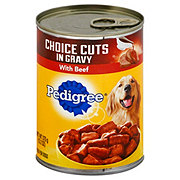 Pedigree Choice Cuts in Sauce with Beef Dog Food