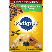 Pedigree Choice Cuts Pouch Chicken Casserole in Gravy