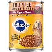 Pedigree Chopped Ground Dinner Filet Mignon Wet Dog Food