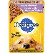 Pedigree Chopped Ground Dinner Hearty Chicken