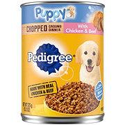Pedigree Chopped Ground Dinner with Chicken & Beef Wet Puppy Food