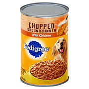 Pedigree Chopped Ground Dinner with Chicken Dog Food