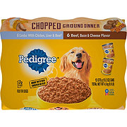 Pedigree Chunky & Ground Dinner Wet Dog Food Variety Pack