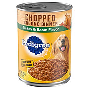 Pedigree Chunky Turkey and Bacon Dog Food