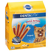 Pedigree DENTASTIX Daily Oral Care Toy & Small Dog Treats Value Size