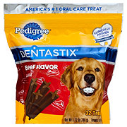 Pedigree DENTASTIX Triple Action Beef Flavor, Large