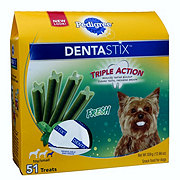 Pedigree DENTASTIX Triple Action Fresh Dog Treats, Toy/Small