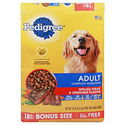 Pedigree Grilled Steak and Vegetable Adult Dog Food