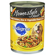 Pedigree Homestyle Meals Chicken Rice & Vegetable in Gravy Wet Dog Food