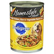 Pedigree Homestyle Meals Chicken Rice & Vegetable in Gravy Wet Dog Food