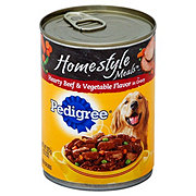 Pedigree Homestyle Meals Hearty Beef & Vegetable in Gravy Wet Dog Food