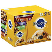 Pedigree Pouch Choice Cuts In Gravy Variety Pack
