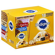 Pedigree Pouch Chopped Ground Dinner Variety Pack