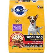 Pedigree Small Dog Complete Nutrition Grilled Steak & Vegetable Dry Dog Food
