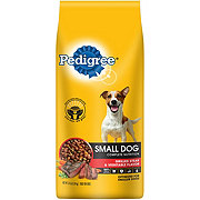 Pedigree Steak and Vegetable Flavor Dog Food, Small