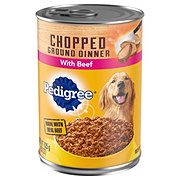 Pedigree Traditional Ground Dinner With Chopped Beef Food For Adults Dogs