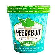 Peekaboo Organic Mint Chocolate Chunk Ice Cream
