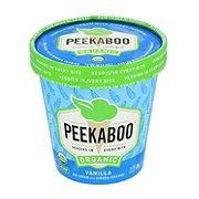 Peekaboo Organic Vanilla Ice Cream