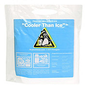 Penguin Brand Dry Ice Cooler Than Ice