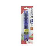 Pentel EnerGel-X Retractable Gel Pen Medium Point Blue Ink