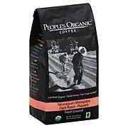 People's Organic Coffee Nicaragua Dark Roast Ground Coffee