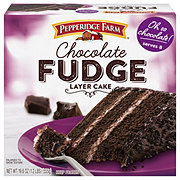 Pepperidge Farm Chocolate Fudge Cake Heb