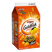 Pepperidge Farm Flavor Blasted Xtra Cheddar Goldfish Baked Snack Crackers