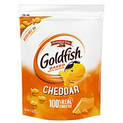 Pepperidge Farm Goldfish Cheddar Baked Snack Crackers Bag