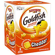 Pepperidge Farm Goldfish Cheddar Baked Snack Crackers Family Size