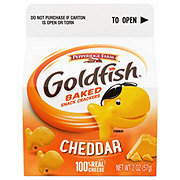 Pepperidge Farm Goldfish Cheddar Baked Snack Crackers Single Serve Carton
