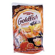 Pepperidge Farm Goldfish Cheddar Baked Snake Crackers Halloween Snack Packs Bag