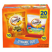 Pepperidge Farm Goldfish Colors &Flavor Blasted Baked Snack Crackers Variety Pack