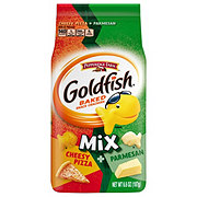 Pepperidge Farm Goldfish Flavor Blasted Mix-Up Adventures Xplosive Pizza + Parmesan Baked Snack Crackers
