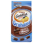 Pepperidge Farm Goldfish Grahams Fudge Brownie Baked Snack Crackers