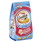 Pepperidge Farm Goldfish Grahams Vanilla Cupcake Baked Snack Crackers