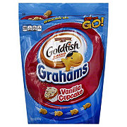 Pepperidge Farm Goldfish Grahams Vanilla Cupcake Baked Snacks Bag