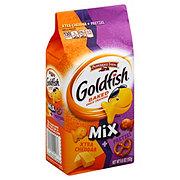 Pepperidge Farm Goldfish Mix Xtra Cheddar & Pretzel Baked Snack Crackers