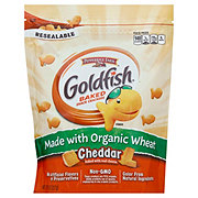 Pepperidge Farm Goldfish Organic Wheat Cheddar Baked Snack Crackers