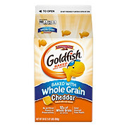 Pepperidge Farm Goldfish Whole Grain Cheddar Baked Snack Crackers