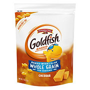 Pepperidge Farm Goldfish Whole Grain Cheddar Baked Snack Crackers Bag