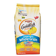 Pepperidge Farm Goldfish Whole Grain Colors Cheddar Baked Snack Crackers