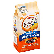 Pepperidge Farm Goldfish Whole Grain Xtra Cheddar Baked Snack Crackers