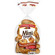 Pepperidge Farm Mini Brown Sugar Cinnamon Bagels