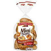 Pepperidge Farm Mini Brown Sugar Cinnamon Bagels